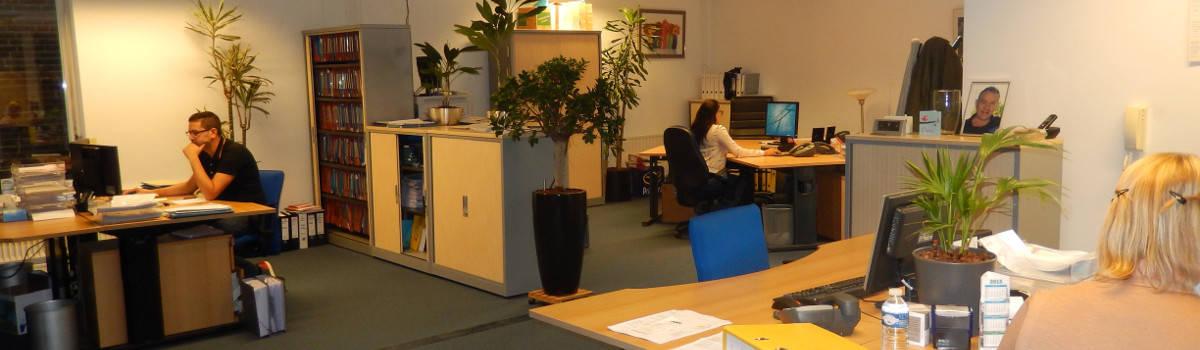 Werkplekken en kantoor Kok Administraties van binnen